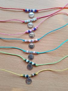 Lots of Colourful Hope Bracelets